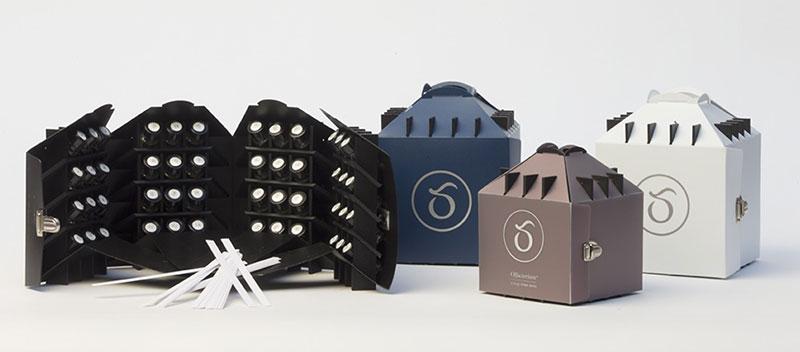 Olfactorium miniature pour parfum Cinquième Sens